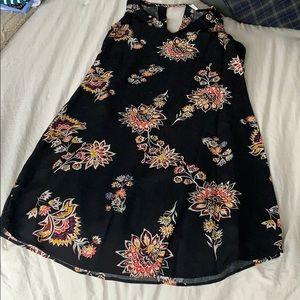 Old navy slim flower dress